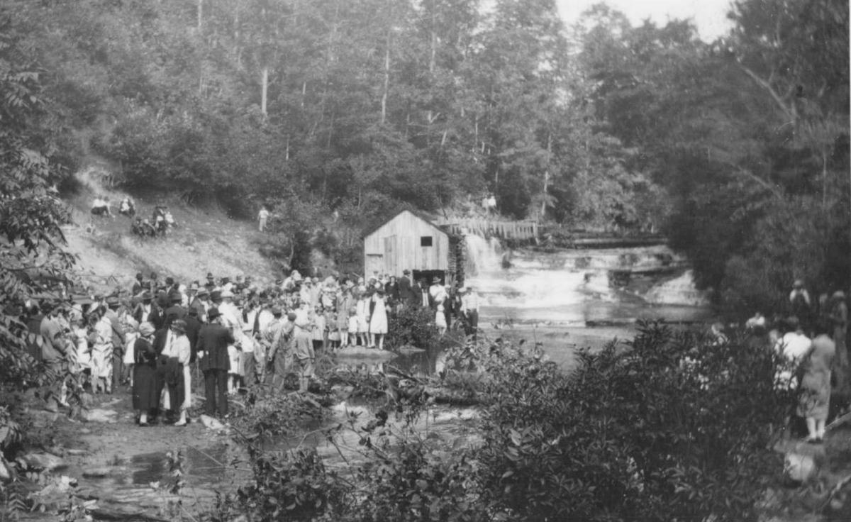 Old Mill at the end of Kitchen Loop 1939
